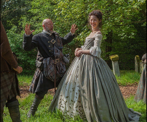 outlander, claire randall, and caitriona balfe image