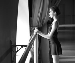ballet, girl, and ballerina image