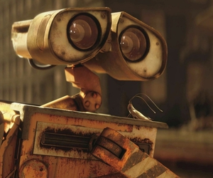 cartoon, pixar, and walle image