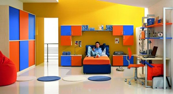 Bedroom Designs. Cool Boys Bedrooms With His Favorite ...