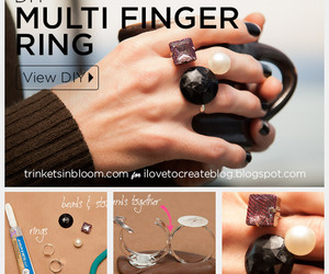 cool, rings, and diy image