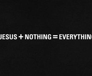 everything, god, and jesus image