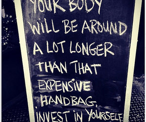 quotes, body, and fitness image
