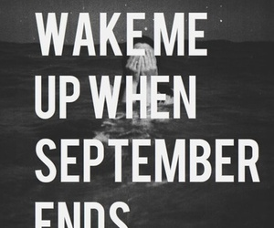 green day, September, and quotes image