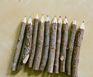 pencil, photography, and wood image
