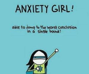 anxiety, true, and funny image