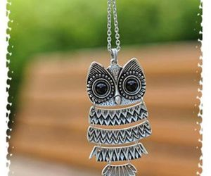 necklace and owl image