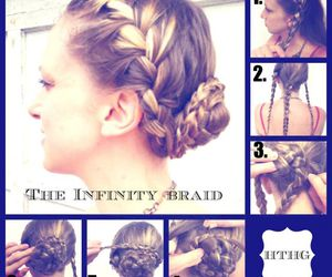 diy, hairstyle, and pretty image