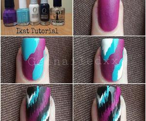 fashion, manicure, and uñas image
