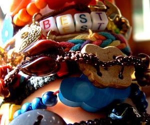 bracelets, colour, and jewelry image