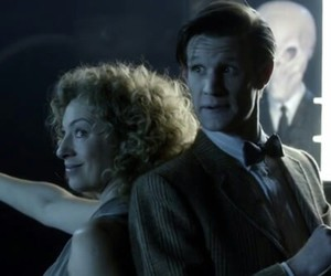 doctor who, matt smith, and the silence image