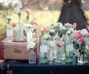 flowers, romantic, and vintage image
