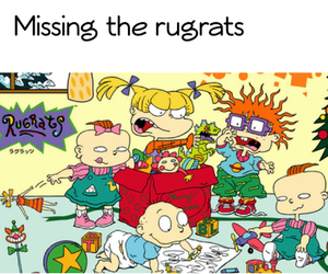 angelica, cartoons, and chuckie image