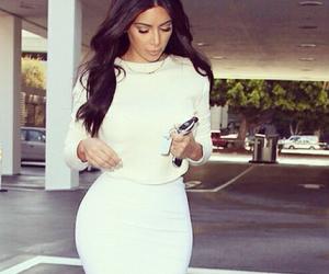 kim kardashian, kim, and beauty image