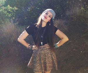beanie, girly, and outfit image