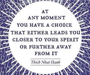 quote, spirit, and choice image