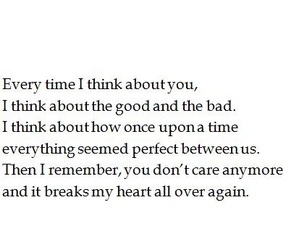 heartbreak, sad, and i think about you image