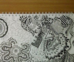 zentangle and drawing out of boredom image
