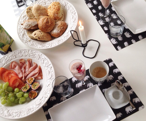 blog, breakfast, and candles image