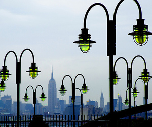 architecture, colors, and new york city image