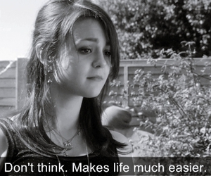 girl, quote, and Kathryn Prescott image