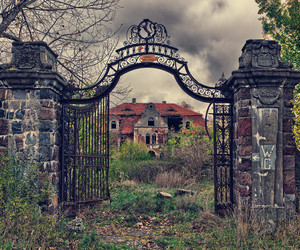 abandoned, house, and Poland image