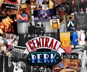 friends, central perk, and chandler bing image