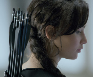 katniss everdeen, catching fire, and Jennifer Lawrence image
