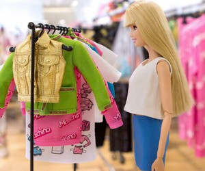 barbie, fashion, and Moschino image