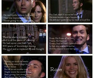 doctor, rose tyler, and Who image