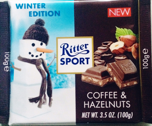 sweet, ritter sport, and chocolate love eat image