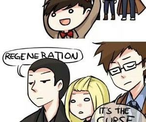 doctor who, funny, and regeneration image
