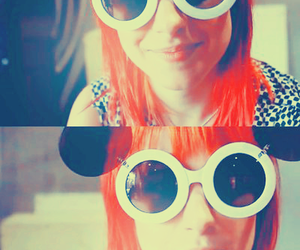 hayley williams, paramore, and glasses image