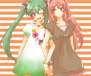 adorable, girl, and miku hatsune image