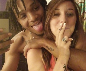 blunt, bonnie and clyde, and smoking image