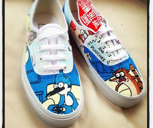 vans, regular show, and shoes image