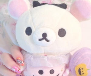 kawaii, pastel, and rilakkuma image