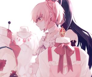 anime, madoka, and anime girl image