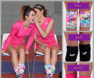 colorful, volleyball, and women's sports image