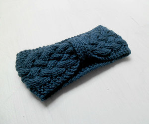 accessories, knit, and blue image
