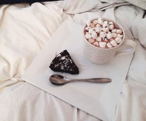 autumn, marshmallows, and hot ​chocolate image