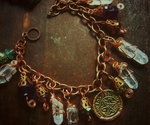 bracelet, wire, and krystall image