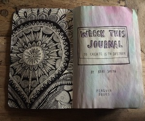 art and wreck this journal image