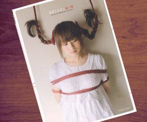 girl, japanese, and kinbaku image