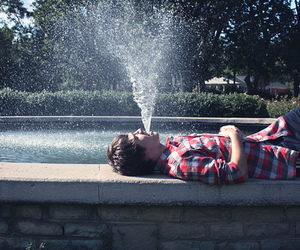 boy, guy, and water image