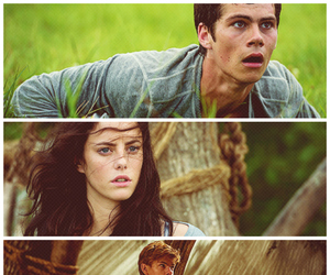 movie, the maze runner, and newt image