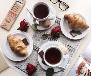 biscuits, coffee, and fashion image