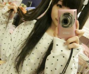 kawaii, girl, and cute image