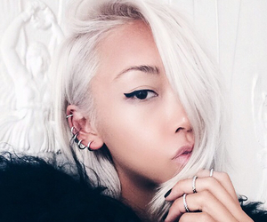 asian, beauty, and ear cuffs image