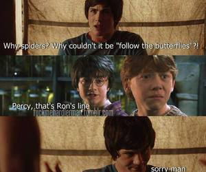 harry potter, percy jackson, and funny image